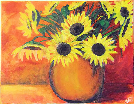 Sunflower Moments by Stephanie Herring