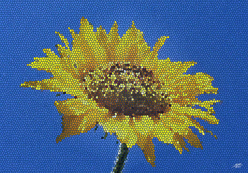 Sunflower Mosaic by Steve Huang