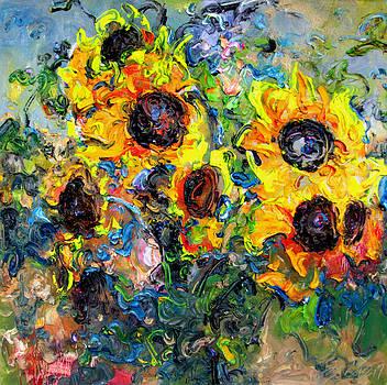 Sunflower-No.4 by Zhang JIyu