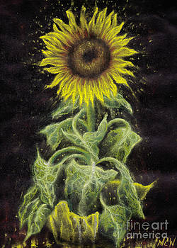 Sunflower Radiance by Michelle Cavanaugh-Wilson