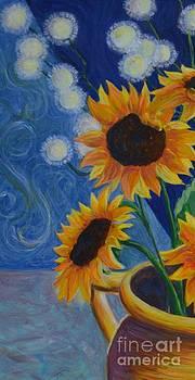 Sunflower2 by Kaisa Art