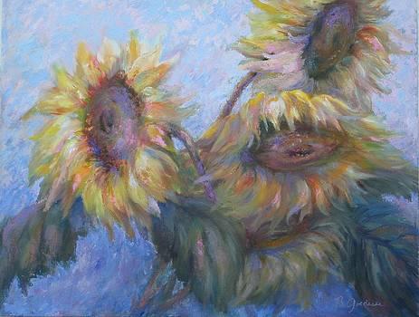 Sunflowers by Bonnie Goedecke