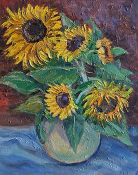 Sunflowers by Efim Melnik