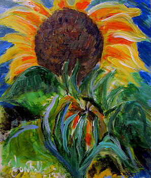 Jon Baldwin  Art - Sunflowers