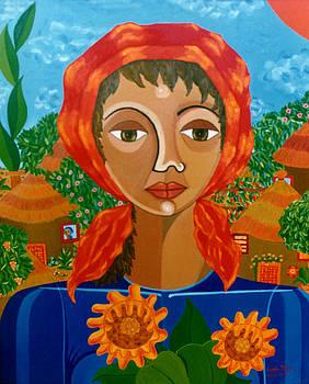 Madalena Lobao-Tello - Sunflowers of Hope