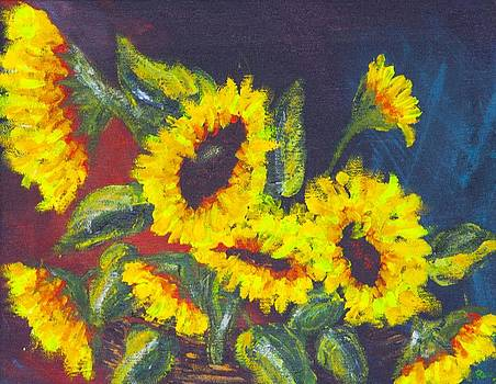 Sunflowers by Robin Lee