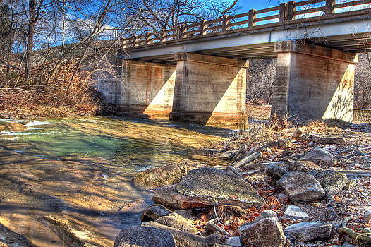 Sunlit Bridge by Terry Hollensworth-Rutledge