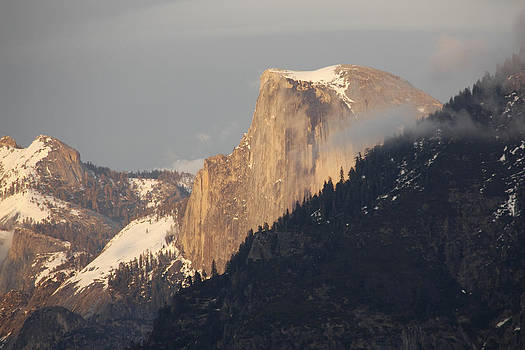 Wes and Dotty Weber - Sunlit Half Dome