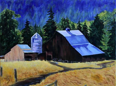 Sunlite Barn by Donna Drake