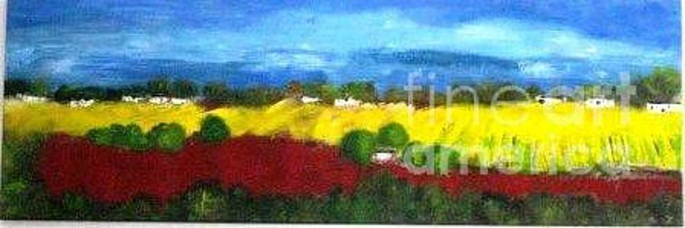 Sunny Fields by Michelle Mettler