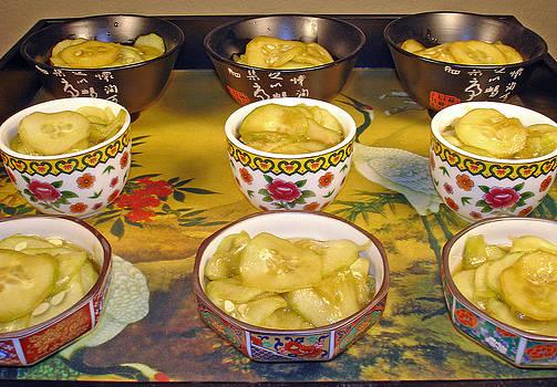 Robert Meyers-Lussier - Sunomono in Japanese Teacups
