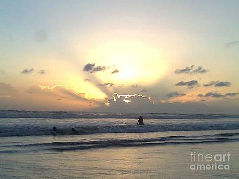 Sunrays At Sunset by Bgi Gadgil