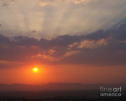 Sunrays in the morning by Hemangi Koticha