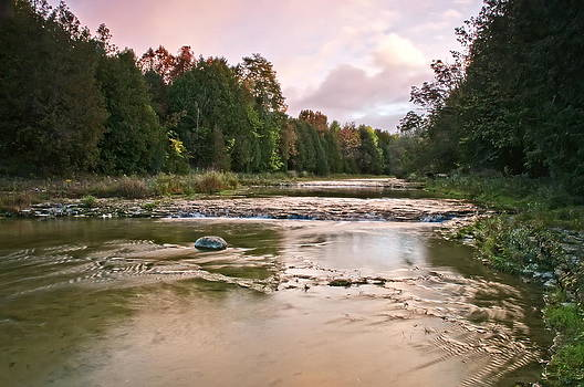 Alan Norsworthy - Sunrise - up river