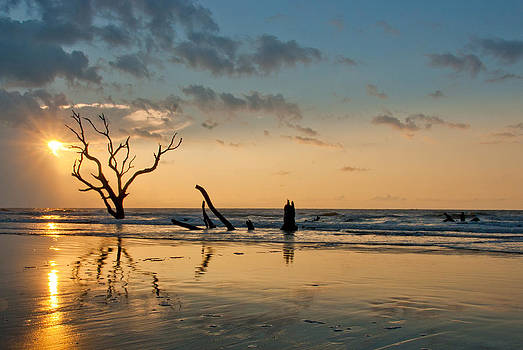 Sunrise at Bone Yard Beach by Francis Trudeau
