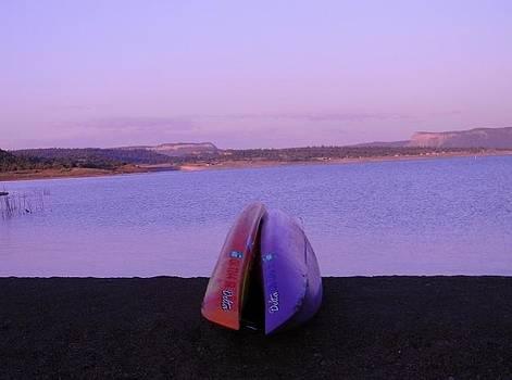 Sunrise At Heron Lake NM by Daria Yesieva-Kartsinski