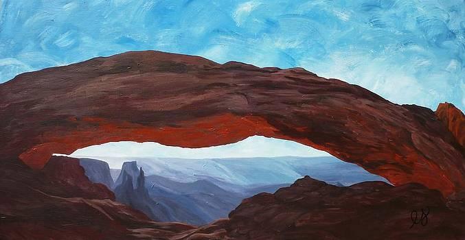 Estephy Sabin Figueroa - Sunrise at Mesa Arch