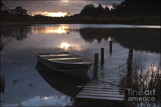 Sunrise Elterwater by George Hodlin