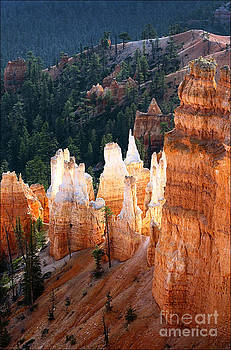 Sunrise Glow Bryce Canyon by George Hodlin