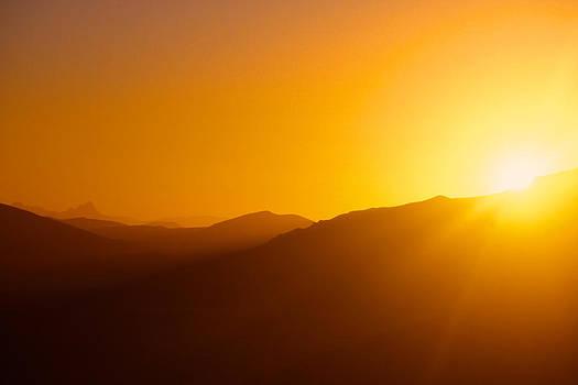 Sunrise in Namib desert by Matthias Siewert