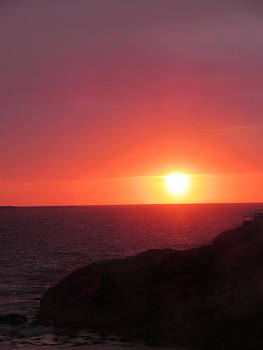 Sunrise Long Beach by Pamela Turner