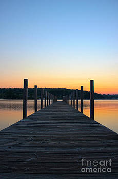 Michael Mooney - Sunrise on the Docks