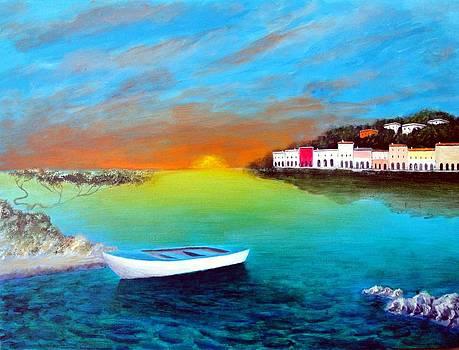 Sunrise On The Riviera by Larry Cirigliano