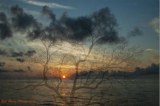Sunrise on Toledo Bend by Bill Perry