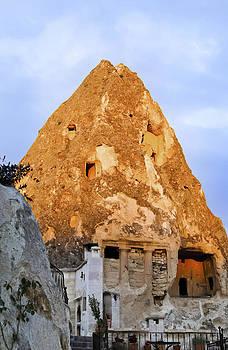 Kantilal Patel - Sunrise over limestone cave