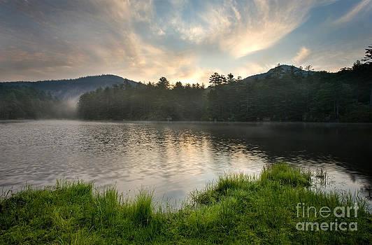 Sunrise over Mountain Lake by Matt Tilghman