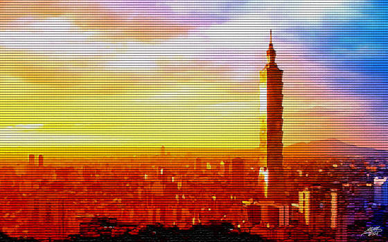 Steve Huang - Sunrise Over Taipei
