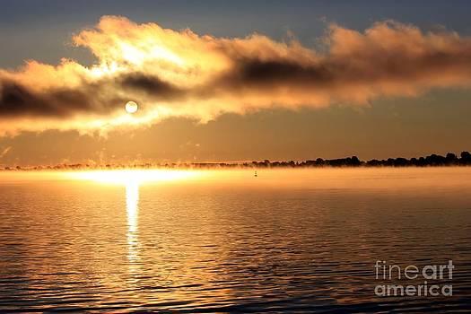Sophie Vigneault - Sunrise over the river