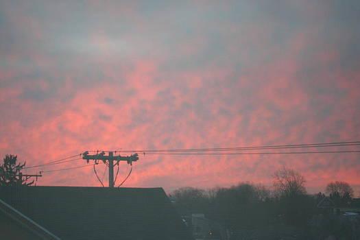 Sunrise over Town by Stephen Melcher
