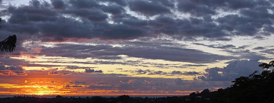 Sunrise Panorama by Odille Esmonde-Morgan