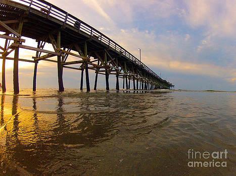 Sunrise Pier by Julie Bostian