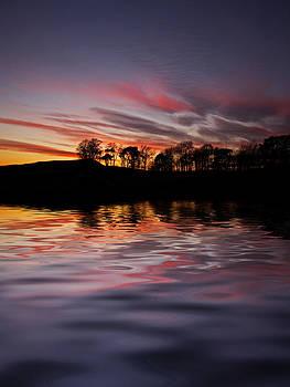 David Pringle - Sunset Reflection
