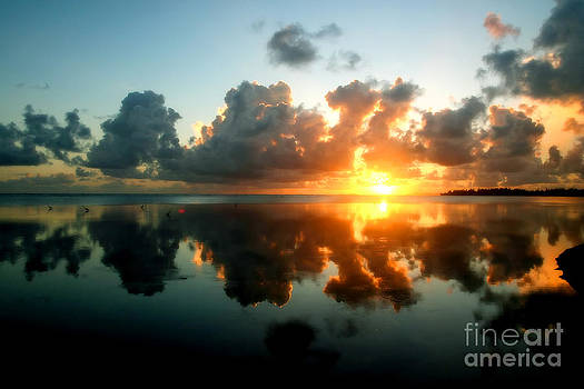Sunrise Reflection by Eddie Lee
