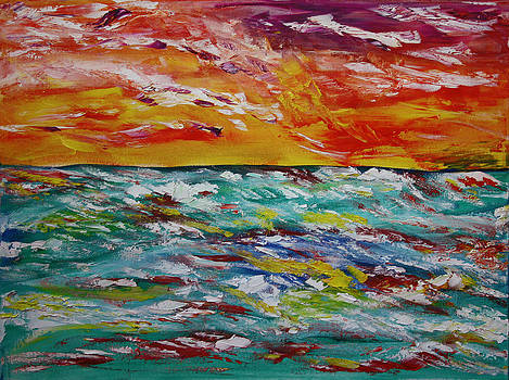 Sunrise Seas by James Bryron Love
