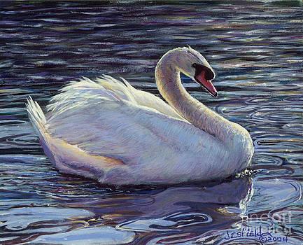 Sunrise Swan by LeRoy Jesfield