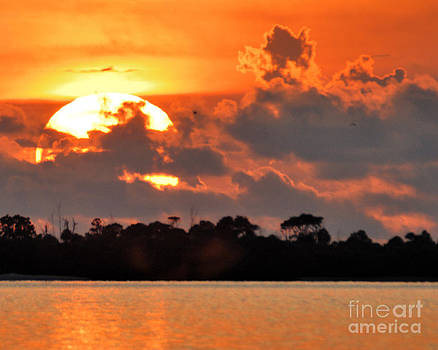 Sunset at Anclote Key by Judson Brady