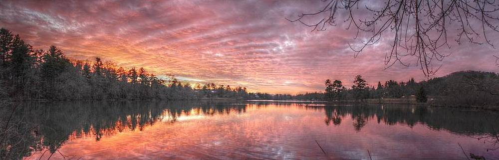 Sunset at Beaver Lake by Eric Crews