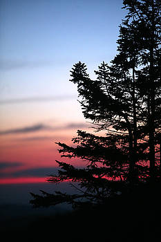 Sunset at Clingman's Dome by Brian M Lumley