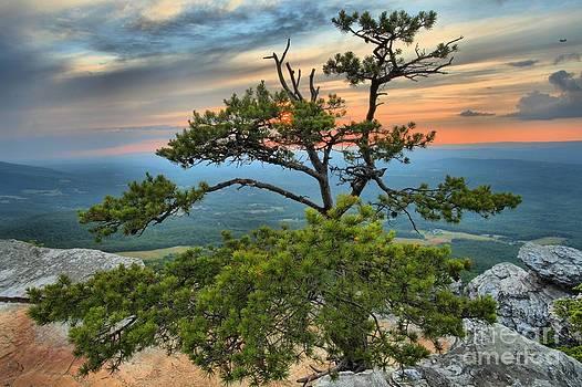 Adam Jewell - Sunset At Hanging Rock