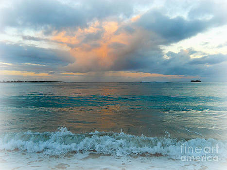 Sunset at Hukilau by Ruth Kongaika