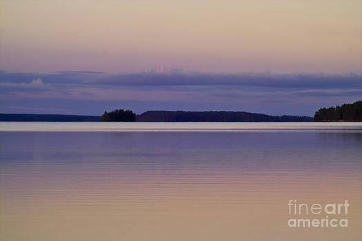 Heiko Koehrer-Wagner - Sunset at Lake Muojaervi