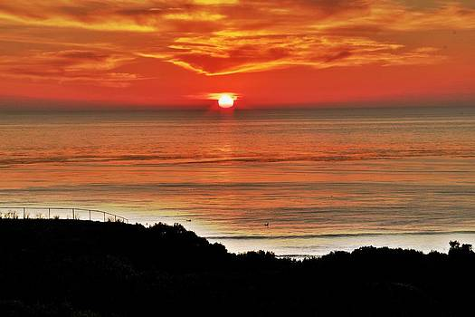 Sunset At Sunset Cliffs by Jeremy McKay