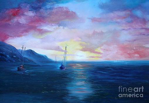 Sunset Bay by Judy Groves