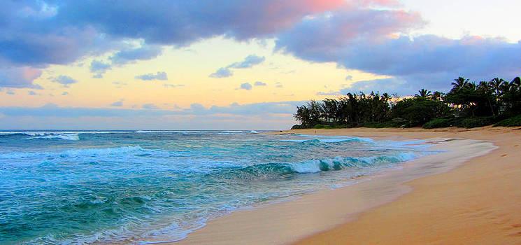 Sunset Beach Hawaii by Brad Scott