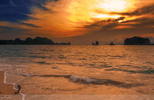 Sunset Beach by Sheikh Siddiquee