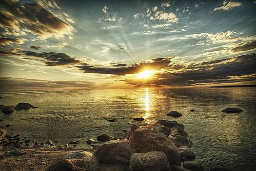 Sunset Beach by Stuart Deacon